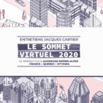 Novembre 2020 -Marie Hoël et Marion Poitevin participent au sommet virtuel des Entretiens Jacques Cartier