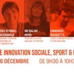 """Décembre 2020 : Cécile Ottogalli-Mazzacavallo participe à la conférence """"innovation sociale, sport et mixité"""" de Play International"""